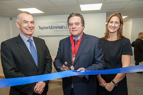 Deputy mayor opens Taylor&Emmet's Dronfield office